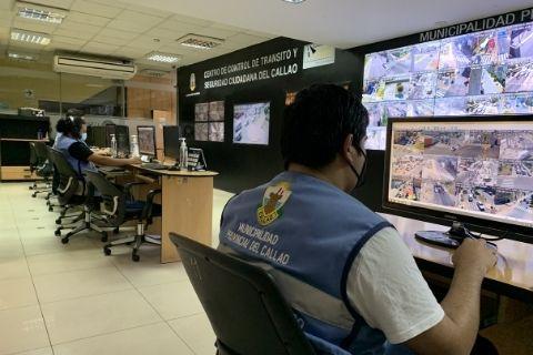 Centro de monitoreo de la Municipalidad de El Callao - Pago Papeletas